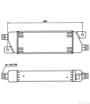 РАДИАТОР МАСЛЕН VAUXHALL ASTRA MK III (1991-) 1.7 D - NRF