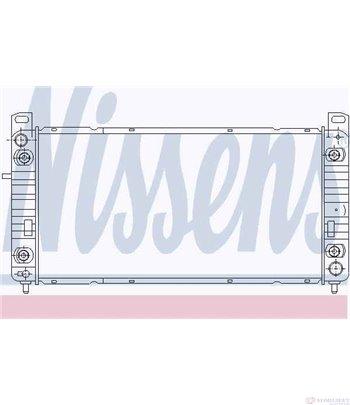 РАДИАТОР ВОДЕН HUMMER H2 SUT (2004-) 6.0 - NISSENS