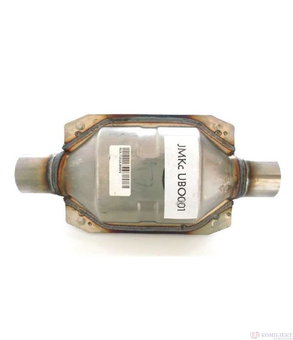УНИВЕРСАЛЕН КАТАЛИЗАТОР БЕНЗИН ОВАЛЕН  до 2000 кубика φ 55 228 мм. - jMKC