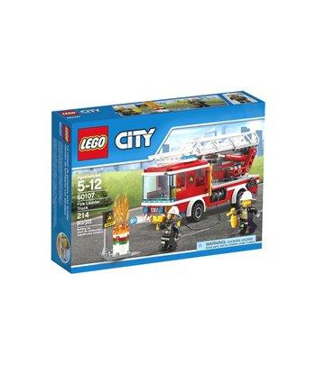 КОНСТРУКТОР FIRE LADDER TRUCK 214БР. - LEGO
